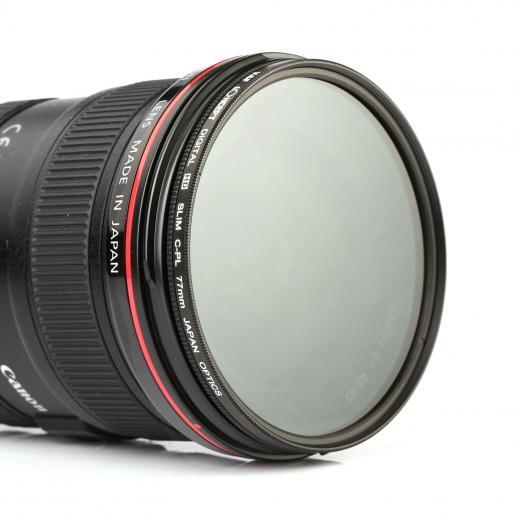 Filtro circular de CPL de polarização de 58mm HD